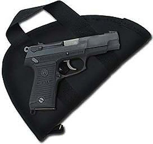 Colt 1911.45 Cal & Clones Pistol Case/Pistol Rug with Handle (Fits Similar Size semi- Autos) - Made in USA