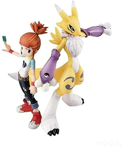 brandless Digimon Renamon Königin Digimon Figur Aktion PVC Spielzeug Modell Anime 6 Zoll Anime Geschenke Spielzeug Modellbausätze