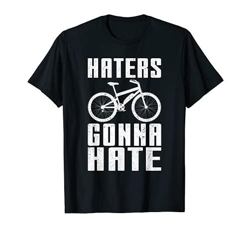 Lustiges E-Bike Design Haters Gonna Hate E-Bike T-Shirt