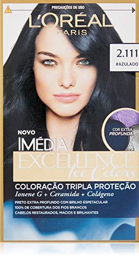 Coloração Imédia Excellence Ice Colors, L'Oréal Paris, 2.111 Perolado