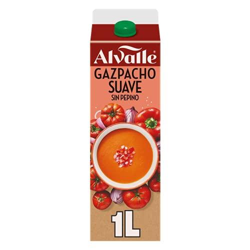 Alvalle Gazpacho Suave sin Pepino, 1L
