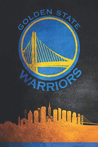 Golden State Warriors: (Basketball Club) Notebook / Journal / bloc note - 110 pages 6x9