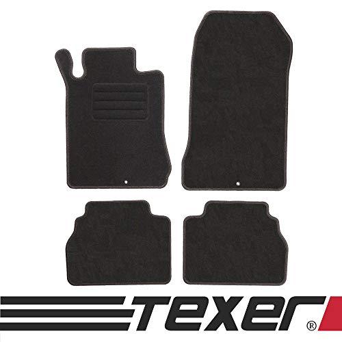 CARMAT TEXER Textil Fußmatten Passend für Mercedes-Benz E-Klasse W210 Bj. 1995-2003 Basic