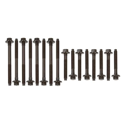 Evergreen HB20500 Compatible With 96-08 Ford Mercury 3.8L 3.9L 4.2L OHV VIN 4, 6, 2 Head Bolt Set