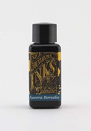 Diamine Aurora Borealis - Tinta para pluma estilográfica (30 ml)