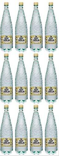 Vichy Catalan: Acqua gassata - Bottiglia di plastica 1.20L - Confezione da 12 bottiglie