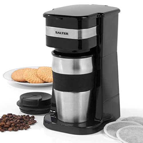 Salter EK2408 Coffee Maker to Go Personal Filter Coffee...