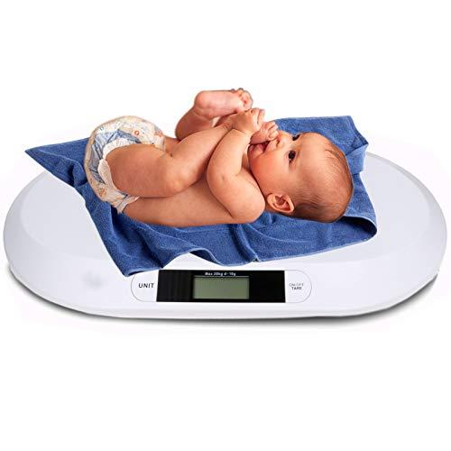 Kinderwaage Babywaage Digital bis 20KG 56x26cm WaageDigitalwaage Stillwaage Küchenwaage Tierwaage