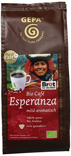 GEPA Cafe Esperanza (1 x 250 g Packung) - Bio