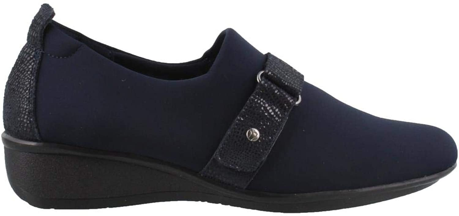 Revere Genoa Women's Comfort shoes Removable Footbed Leather Slip-On