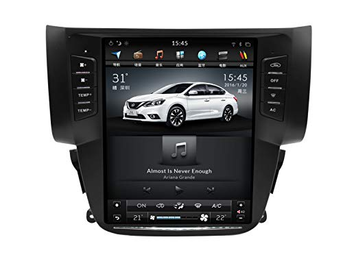 WXHHH Navegación GPS para Nissan Sylphy 2012-2017,10.4 Pulgadas Coche Sistema de navegación satélite Navegador satélite DVD Player Bluetooth WiFi Estéreo Radio Táctil,2+32