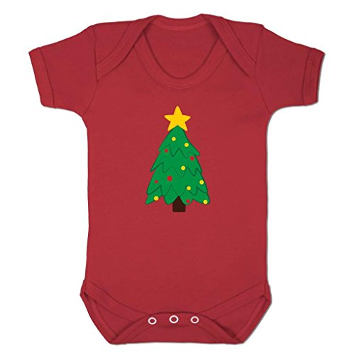 Funny Baby Grows Cute Baby Clothes for Baby Boy Baby Girl Bodysuit Vest Christmas Tree Emoticon