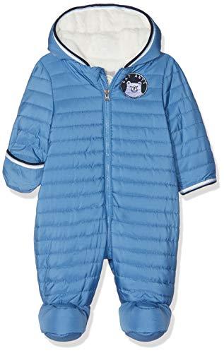 Sanetta Sanetta Baby-Jungen Outdooroverall Schneeanzug, Blau (Midblue 5760.0), 56