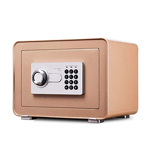 GGDJFN Digital Box in Acciaio di Sicurezza di Sicurezza Sicurezza Elettronica Home Office Denaro Sicurezza Contanti Casseforti for Cassaforte Cabinet Casseforti 35 * 25 * 25 Centimetri
