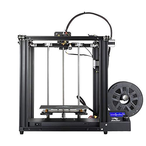 JFCUICAN Imprimante 3D 3D Printing Ender 5 Imprimante 3D Haute précision Mise Hors Tension Reprendre Construction Facile Reprendre Fonction d'impression Alimentation de Marque