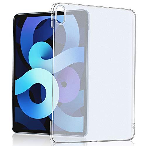 Eono by Amazon - Kompatibel mit iPad Air 4 Hülle 2020 10,9 Zoll [Klar-Matte Rückenschale] [Schlanke und Harte Hülle] [Kompatibel mit iPad Air 4] – Durchscheinend