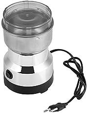 Kaffe- och kryddkvarnar elektrisk 220 V kaffekvarnar kaffebönor-malmaskin elektrisk kaffekvarn av rostfritt stål (EU-kontakt)