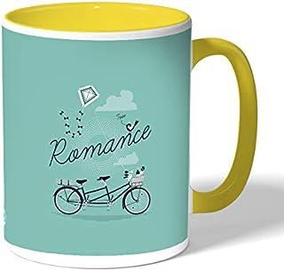 bicycle Coffee Mug by Decalac, Yellow - 19031