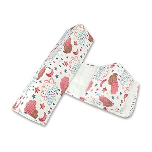 Almohada para bebé, almohada para dormir lateral ajustable para bebé, almohada triangular para bebé con diseño de cremallera, almohada lateral extraíble y lavable, los mejores regalos de cumpleaños