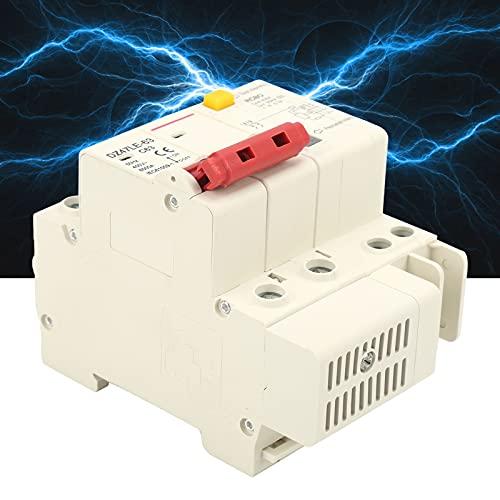 Disyuntor, disyuntor de protección contra fugas Práctico para iluminación industrial para iluminación comercial de distribución de energía para equipos mecánicos