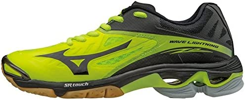 Mizuno Women s Wave Lightning Z2 Volleyball Shoes Neon Yellow Black Women s Size 11 5 product image