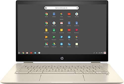 HP Chromebook x360-14 FHD Touch - i3-8130U - 8GB - 64GB eMMC - Silver White (Renewed)