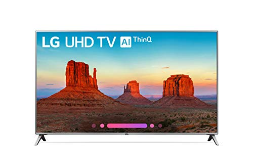 LG Smart TV 50' 4K UHD (Renewed)