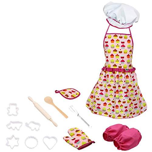 Gaoominy Utensilios de cocina Juego de utensilios de cocina para hornear disfraz de galleta fondant cortador moldes utensilios de cocina juego para nias nios