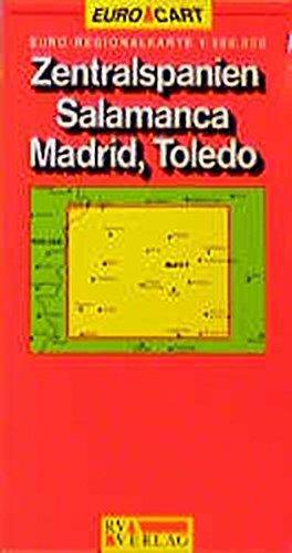 Spain Map: Central Spain/Salamanca/Toledo/Madrid Sheet 5 (GeoCenter Euro Map S.)