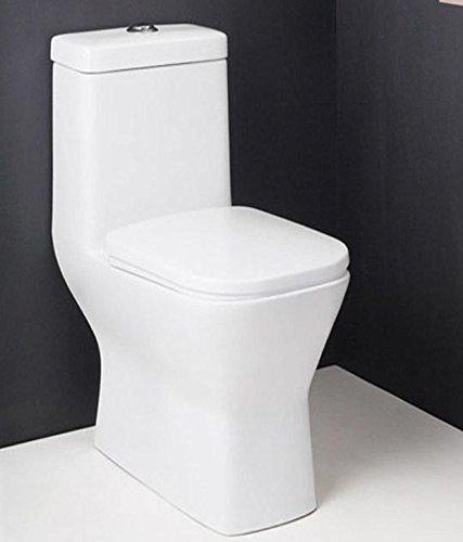 Hindware Element 92082 Ceramic Closet S 30 (White,Two Pieces)