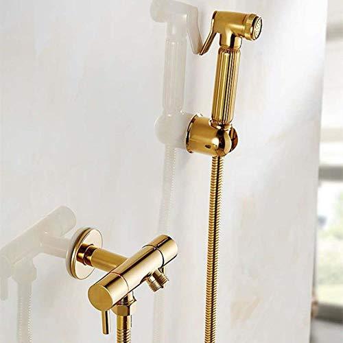 Culo bidé escobilla de goma de plata de baño grifo de la ducha Sistema de lavado, sacudir la cola anal Boquilla pared portátil Higiénico, FXQ002-G