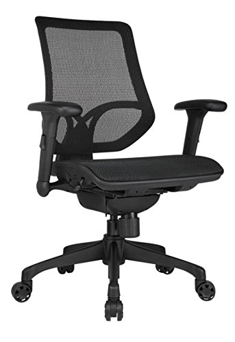Workpro - Chair - 1000 Series Mid-Back Mesh Task Chair - 41-7/10' h x...