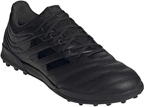 adidas Men's Copa 20.3 Turf Boots Soccer Shoe, Black, 6.5