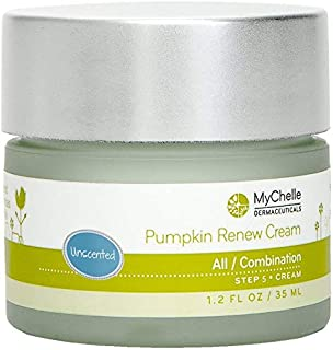 MyChelle Pumpkin Renew Cream, Unscented, 1.2-Ounce Jar