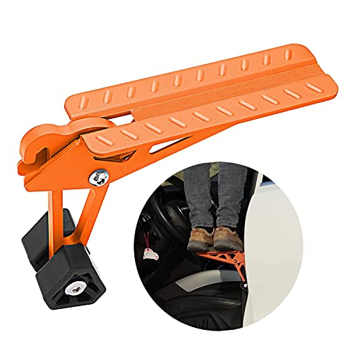 COWVIE Foldable Car Door Step Stand Pedal - Access To Vehicle's Top Roof Both Feet Stand Pedal...