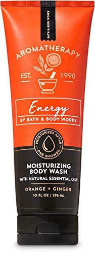 Bath & Body Works Aromatherapy Energy Orange Ginger Moisturizing Body Wash 10 fl oz / 296 mL