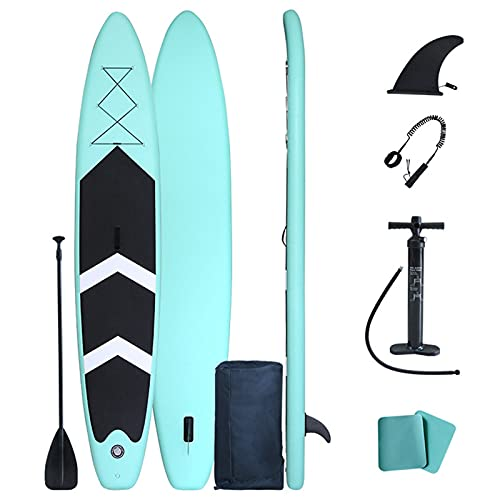 YILUFU Paddle Surf, Tabla de Paddle Surf Hinchable, Sup Tabla Stand Up Paddle Board, Set Completo, Tabla de Surf Sup Board con Remo y Bomba de Inflado