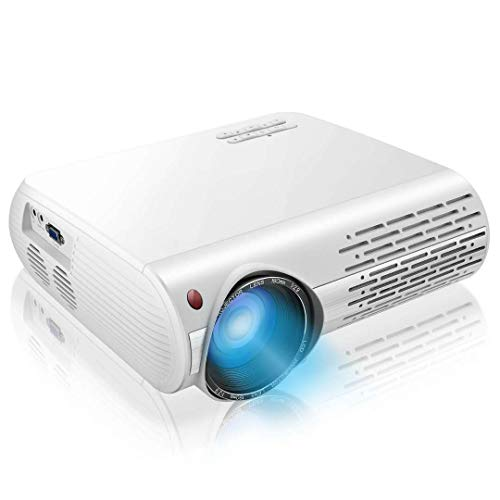 "1080P Projector,7200lux Outdoor Projector with 400""Display,Support 4K Dolby and Zoom,100000h lamp,Official Business & Home & Outdoor Projector Compatible with TV Stick,HDMI,VGA,USB,Smartphone,PC,Xbox"