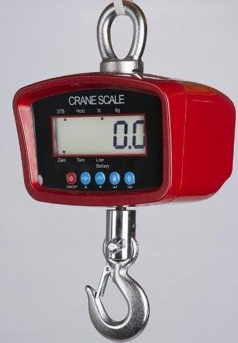おトク Crane Scale 500 LB 販売実績No.1 X Hanging 0.1 New