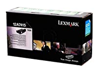 Lexmark 12 a7415 t420 – 1 – オリジナル – トナーカートリッジPrebate – For t420d、420dn、420dt、420dtn、420 N