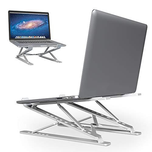 Eleglide Laptop ständer Tablet ständer Notebook höhenverstellbar Laptop Stand Halterung Laptop erhöhung ipad ständer für Laptop (10-17 Zoll) kompatibel mit MacBook Pro/Air, Surface, Samsung, HP