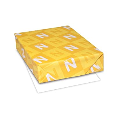 "Neenah Capitol Bond 25% Cotton Paper, 8.5"" x 11"", 24 lb, White, 91 Brightness, 500 Sheets (B724)"