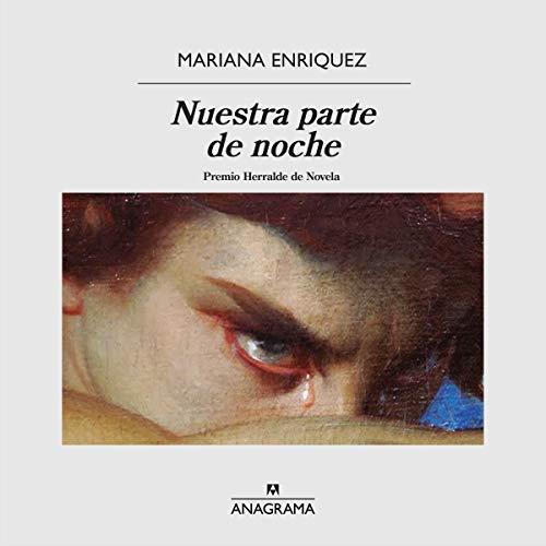 Diseño de la portada del título Nuestra parte de noche