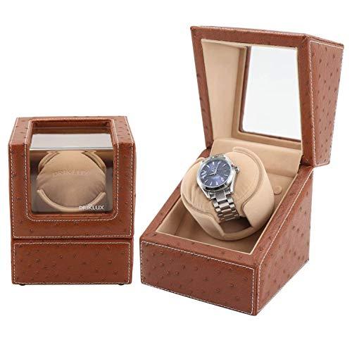 SMSOM Motor de Clase Alta Reloj Shaker Watch Winder Holder Holder Pantalla automática Blanificación mecánica con Motor silencioso y Almohadas Suaves de Reloj Flexibles
