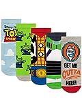 Disney Calcetines Paquete de 5 para Niños Toy Story Multicolor 31-36