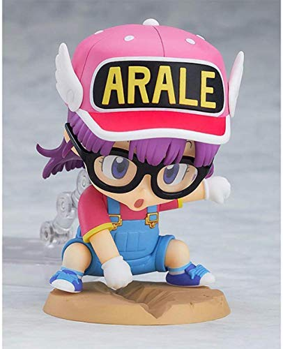 XXSDDM-WJ Regalo 10CM Dr. Slump Arale Figura de acción D animación Estatua Decoraciones Modelo Escultura títeres colección de Recuerdos Juguetes para Regalo Arale-Arale RD7