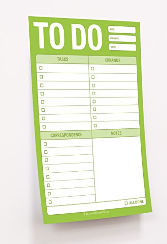 Knock Knock to Do Great Big Sticky Note, Large to-Do List Sticky Pad, 4 x 6-inches Photo #2