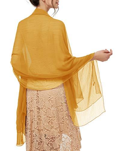 Bridesmay dames strand sjaals zonwering sjaal zomerdoek stola voor jurken in 29 kleuren