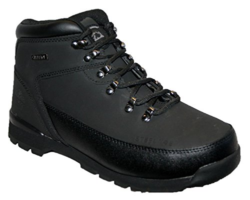 MENS LEATHER UPPERS SMART/CASUAL LACE UP STEEL TOE CAP SAFETY BOOT 10 UK
