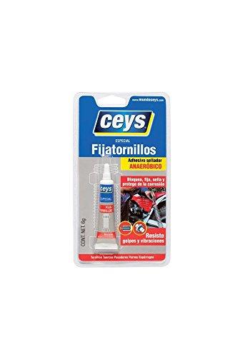 ceys CE501033 Adhesivo fijatornillos, Azul, 0